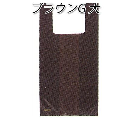 レジ袋 ブラウンG大 (1000枚/ケース)