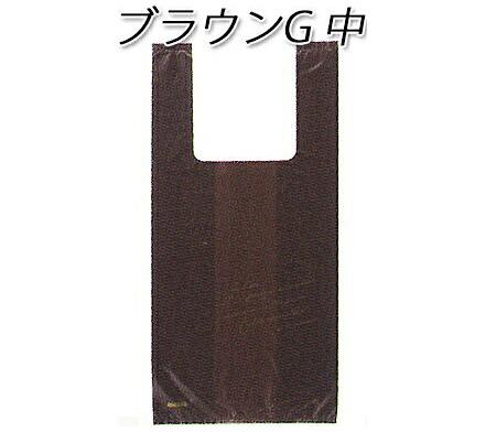 レジ袋 ブラウンG中 (1000枚/ケース)