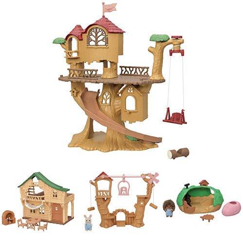 森のどきどきツリーハウス+ファミリートリップシリーズ3点セット マーケティング 宅送