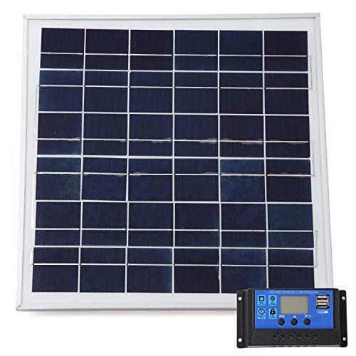 <title>スプレンノ ソーラーパネル 20W ソーラーチャージャー コントローラー セット 与え 10A 12V 24V</title>