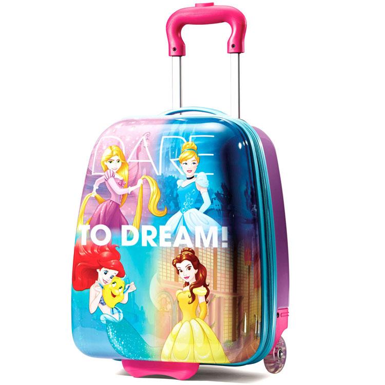 【スーパーセール ポイント5倍】キャリーバッグ アメリカンツーリスター ディズニー プリンセス アップライト ハード 機内持込み