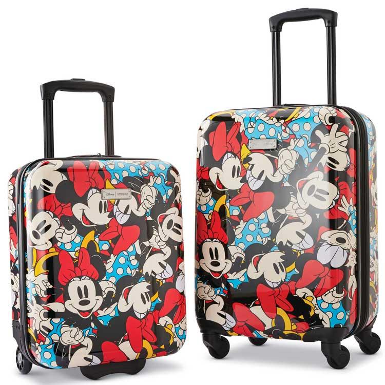 【ラスト26時間限定・8%OFFクーポン有】サムソナイト アメリカンツーリスター ミニー スーツケース スピナー 2個セット ディズニー キャリーバッグ