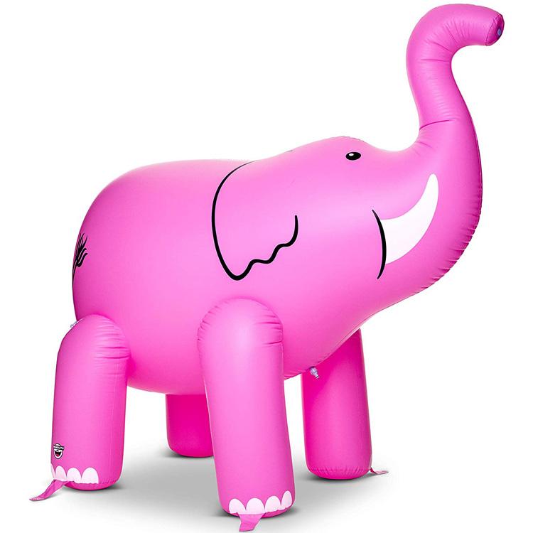 【8月15日限定ポイント5倍】水遊び ビッグマウス ゾウ ピンク スプリンクラー 大きい ミストシャワー 超大型 BIG MOUTH