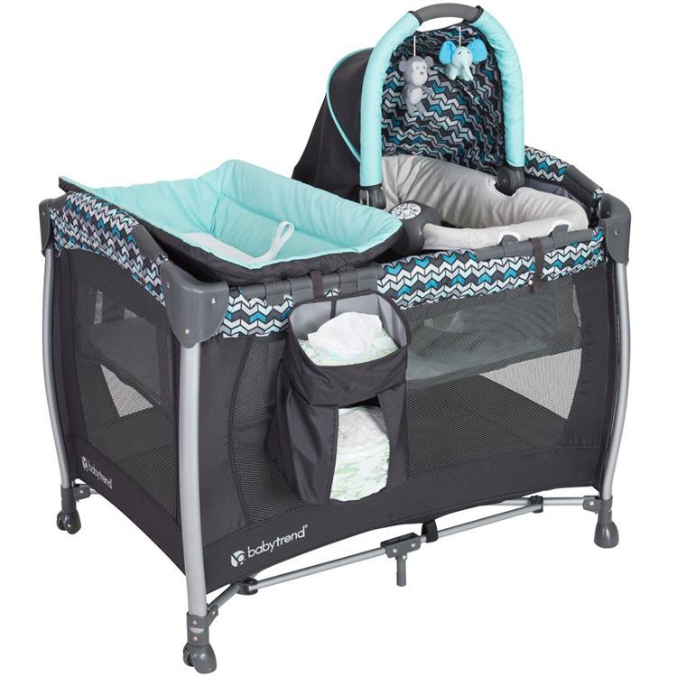 Baby Trend ベビートレンド リゾート エリート ナーサリー センター ラグナ ブルー