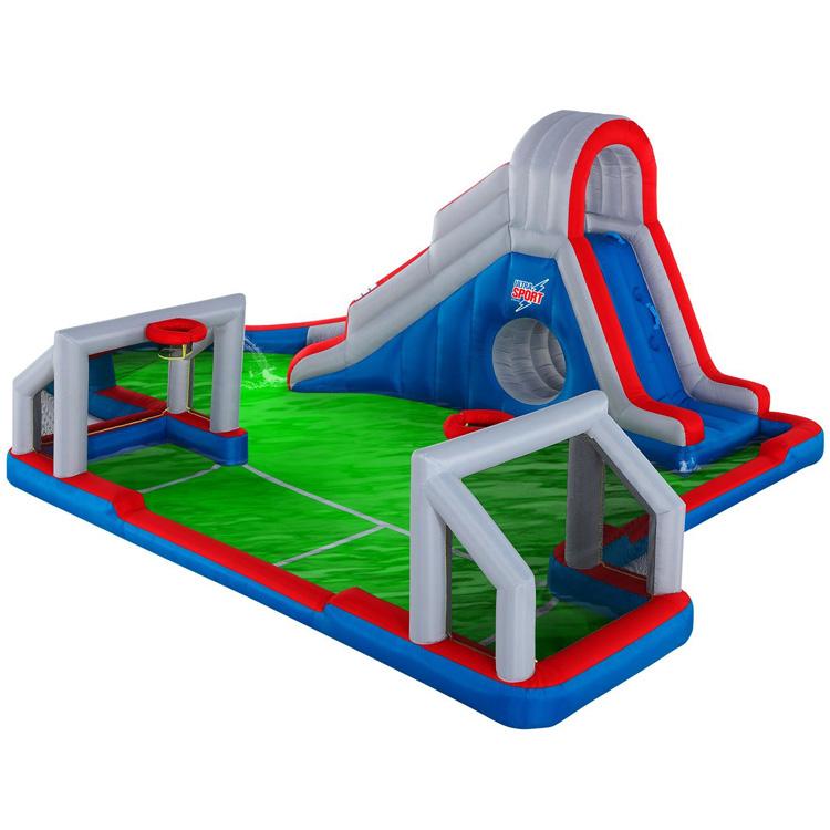 【サマーバーゲン】大型プール 滑り台 ウルトラ スポーツ ウォーターパーク エアー遊具 家庭 施設 Blast Zone /配送区分B