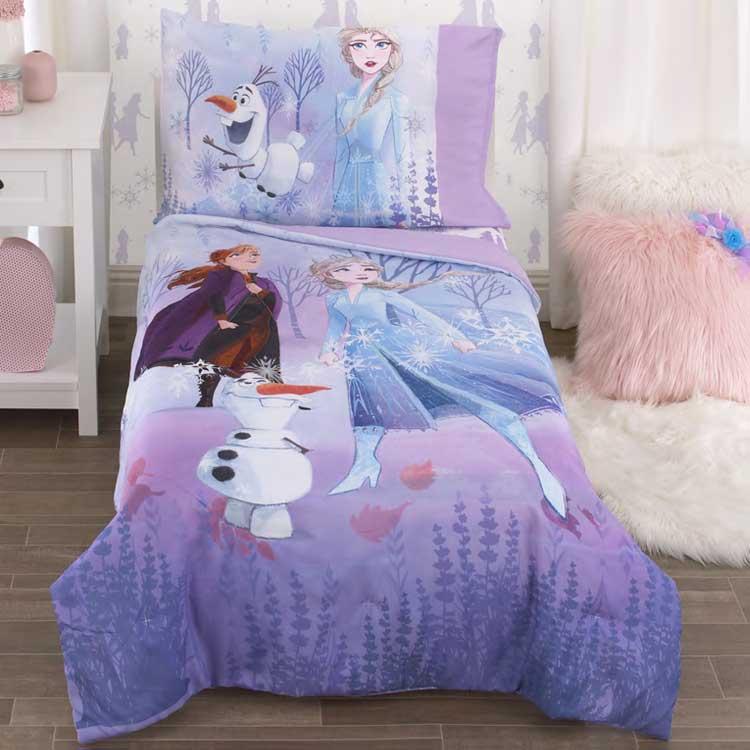 ディズニー アナと雪の女王2 子供 寝具 4点 セット 子供用布団 子供用寝具 トドラーベッディング CrownCrafts