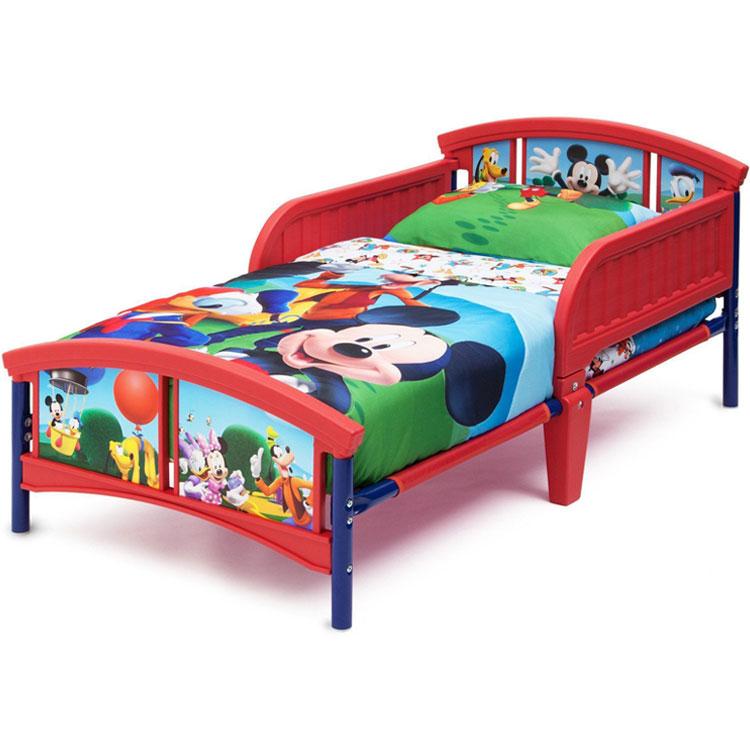 Online ONLY(海外取寄)/ デルタ ディズニー ミッキーマウス トドラーベッド 子供 3-6歳