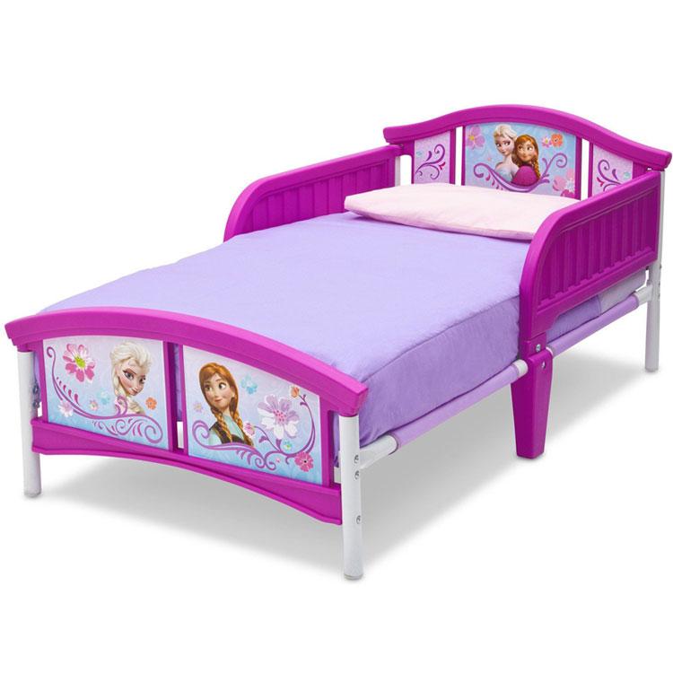 8月18日入荷予約販売/ デルタ ディズニー アナと雪の女王トドラーベッド 子供 女の子 3-6歳