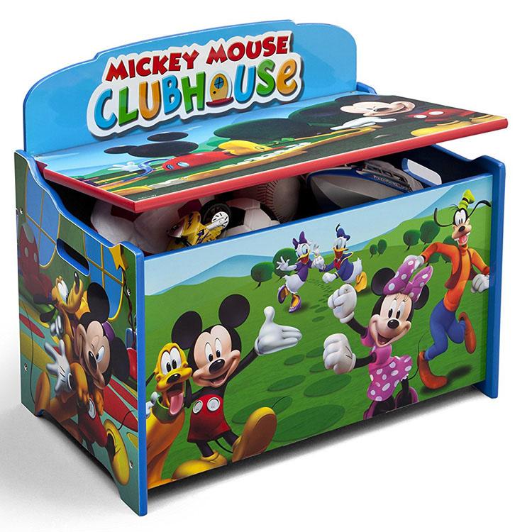 Online ONLY(海外取寄)/ Delta デルタ ディズニー ミッキーマウス デラックス おもちゃ箱 3-7歳