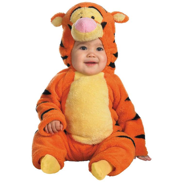 【お買い物マラソンP3倍】ディズニー くまのプーさん ティガー コスチューム ベビー 赤ちゃん 70-95cm Disguise 6580