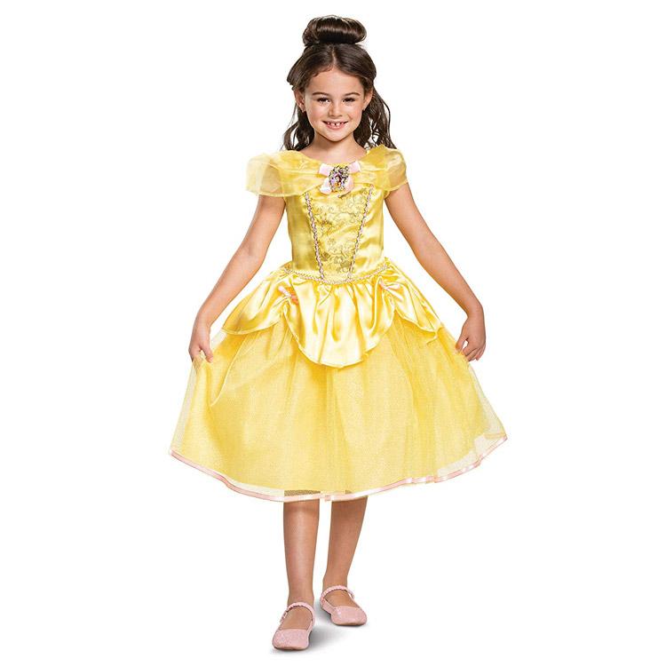 ディズニー プリンセス 美女と野獣 ベル コスチューム 女の子 110-125cm Disguise 66631