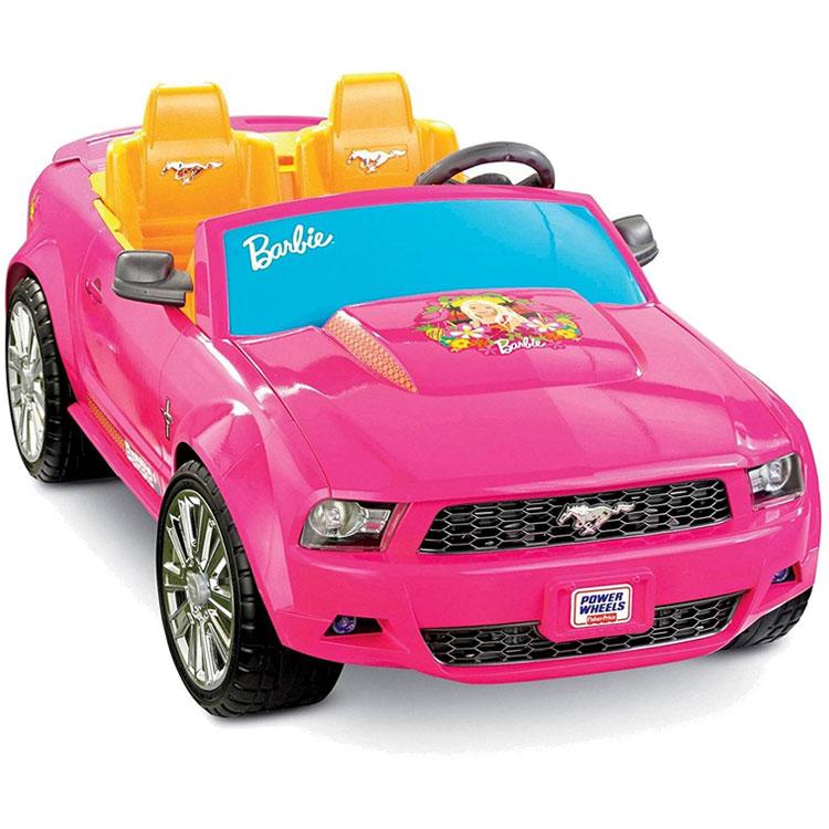 フィッシャープライス バービー フォード マスタング バッテリーカー 女の子 6歳から P8812/配送区分A
