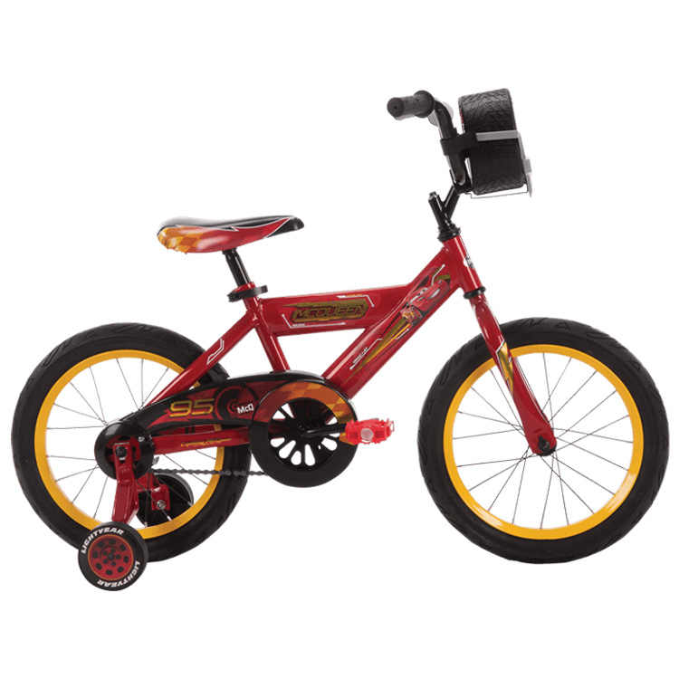 Huffy 16インチ ディズニー ピクサー カーズ 自転車 21787
