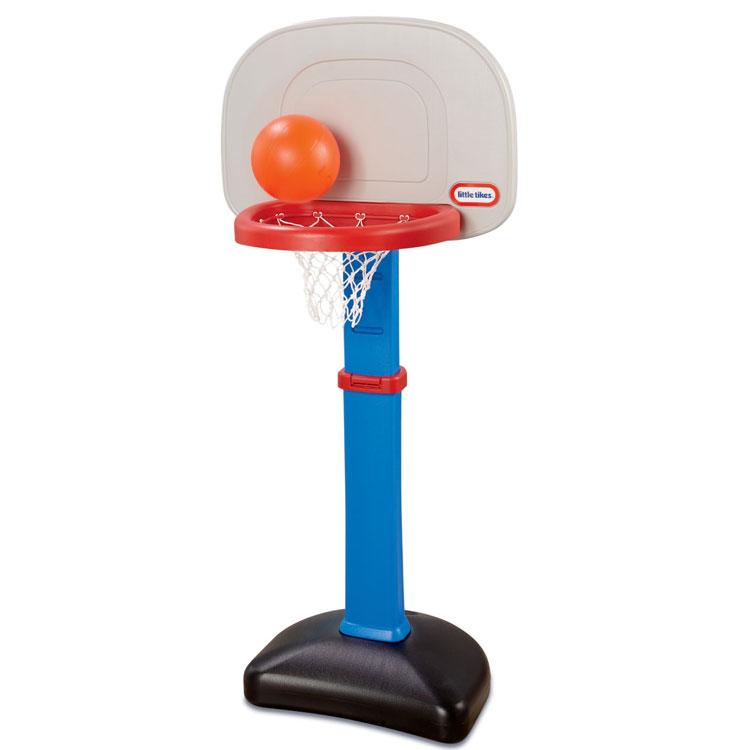 4月11日入荷予約販売/ リトルタイクス バスケット ゴール セット 1歳半から ブルー LittleTikes 612329