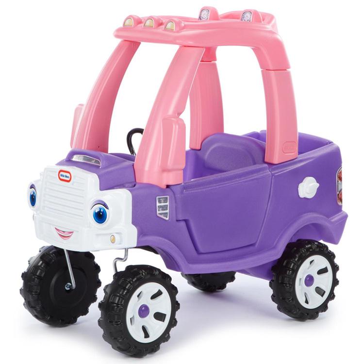 Online ONLY(海外取寄)/ 乗用玩具 リトルタイクス コージートラック パープル 子ども 車 ベビーカー Littletikes 642777 /配送区分A