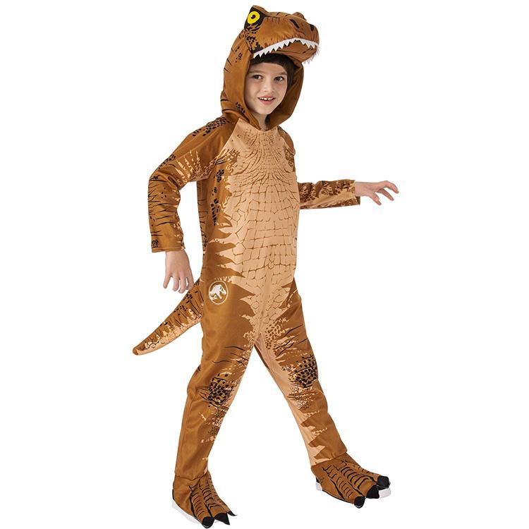 【お買い物マラソンP3倍】ハロウィン 衣装 子供 ルービーズ ジュラシック ワールド T-REX コスチューム 男の子 105-135cm Rubie's 641275