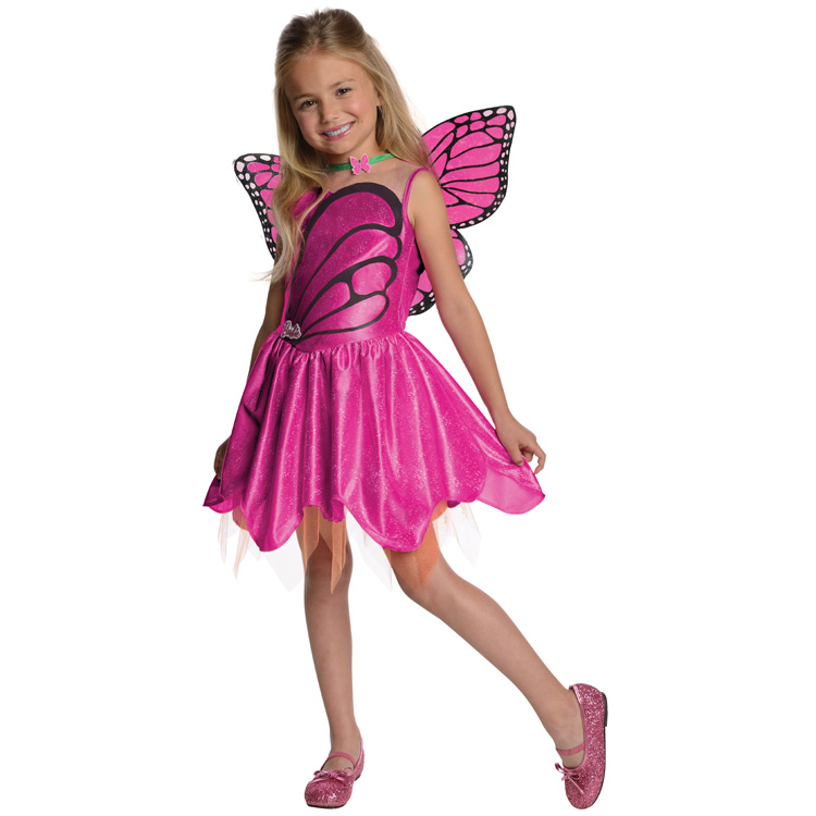 Barbie Halloween Costume Kids.Child 90 135cm 886743 Of The Halloween Clothes Child Roux Beads Barbie バービーマリポサ Butterfly Costume Woman