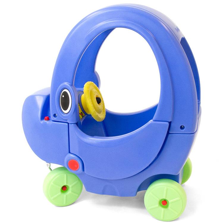 乗用玩具 足けり ライドオン エリー クーペ ブルー 1歳半から simplay3