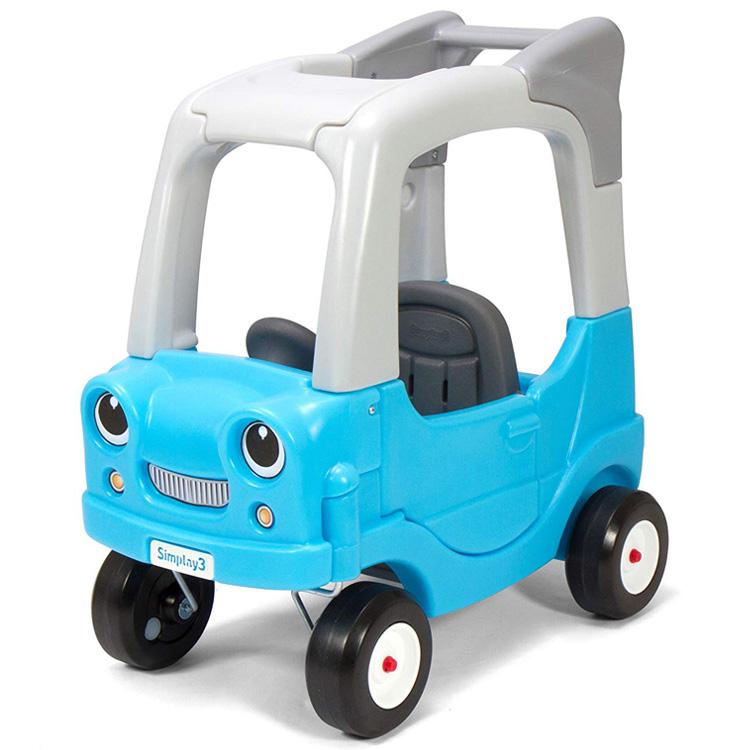 【8月16日~10%OFFクーポン有】Online ONLY(海外取寄)/ 乗用玩具 足けり ライドオン SUV クーペ ブルー 1歳半から キッズ カート simplay3 /配送区分A