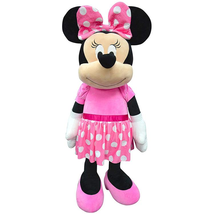 特大サイズ ディズニー ミニーマウス ぬいぐるみ 152cm ジャイアント ドール Minnie 巨大 クリスマスプレゼント