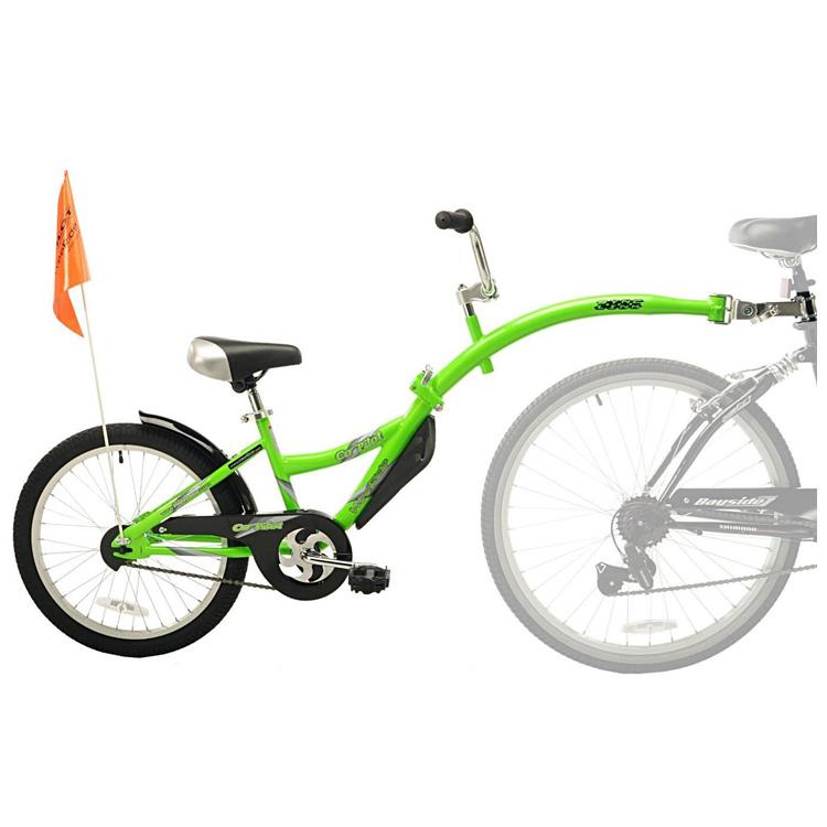 Online ONLY(海外取寄)/ 補助自転車 ポタリング 20インチ ウィライド コパイロット グリーン トレーラーサイクル タンデムバイク Weeride
