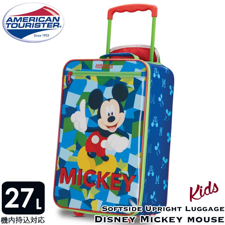 ディズニー ミッキーマウス ソフト キャリーバッグ キャリーケース 機内サイズ アメリカンツーリスター サムソナイト 機内持込み