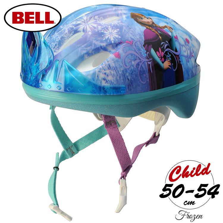 Bell ベル 商い アメリカ 海外 キャラクター ヘルメット 子供 子ども キッズ 幼児 園児 通園 新作 人気 子供用 通学 自転車 ジュニア プロテクター 3D BELL ティアラ ディズニー バランスバイク アナと雪の女王