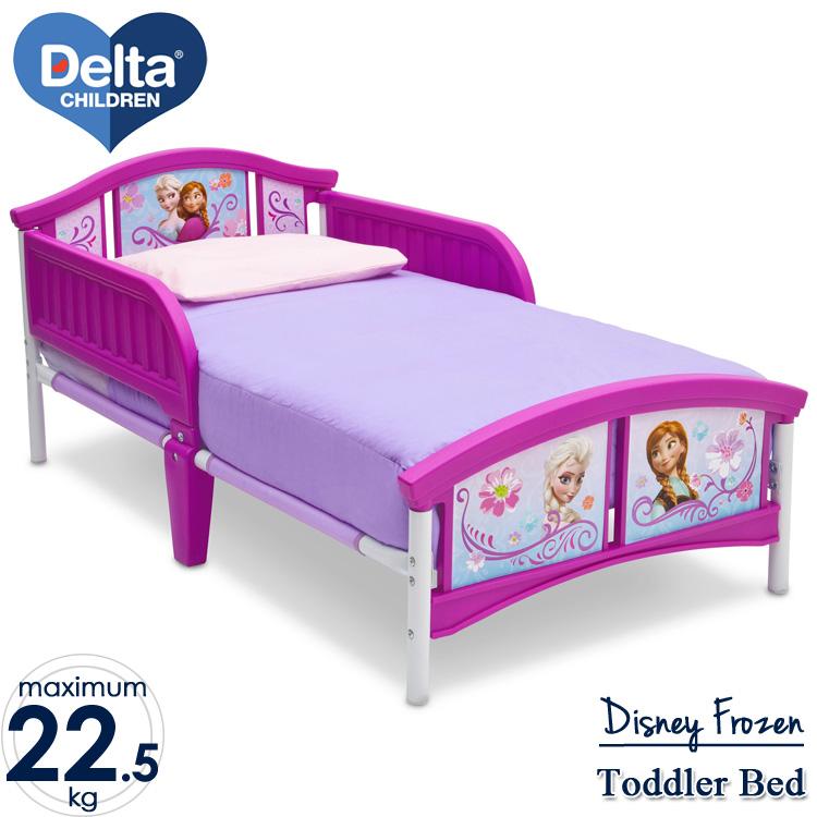 Delta デルタ ディズニー アナと雪の女王トドラーベッド 子供 女の子 3-6歳