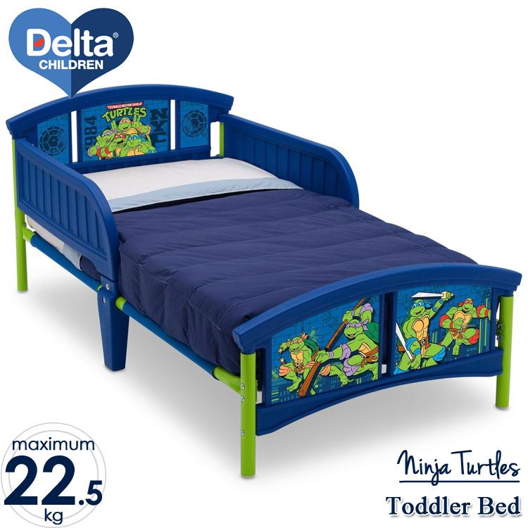 【winter sale】デルタ ニンジャ タートルズ 子供用ベッド 男の子 3-6歳 トドラーサイズ