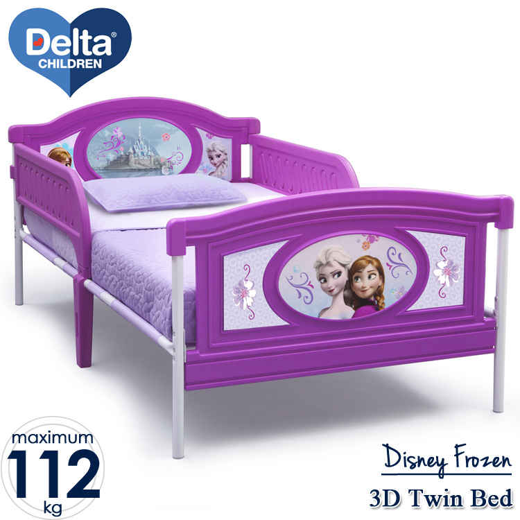Online ONLY(海外取寄)/ デルタ ディズニー アナと雪の女王 DX ツインベッド 3歳から /配送区分A