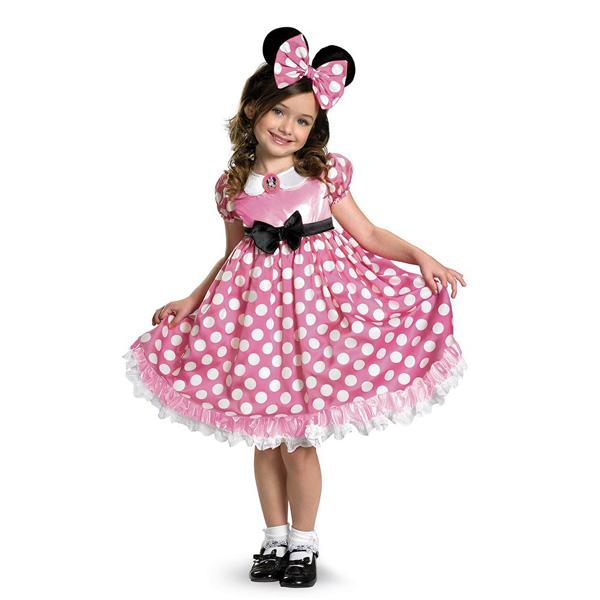 【P2倍・12月26日12時まで】ハロウィン 衣装 子供 ミニーマウス コスチューム 女の子 95-135cm 42986 ディズニー