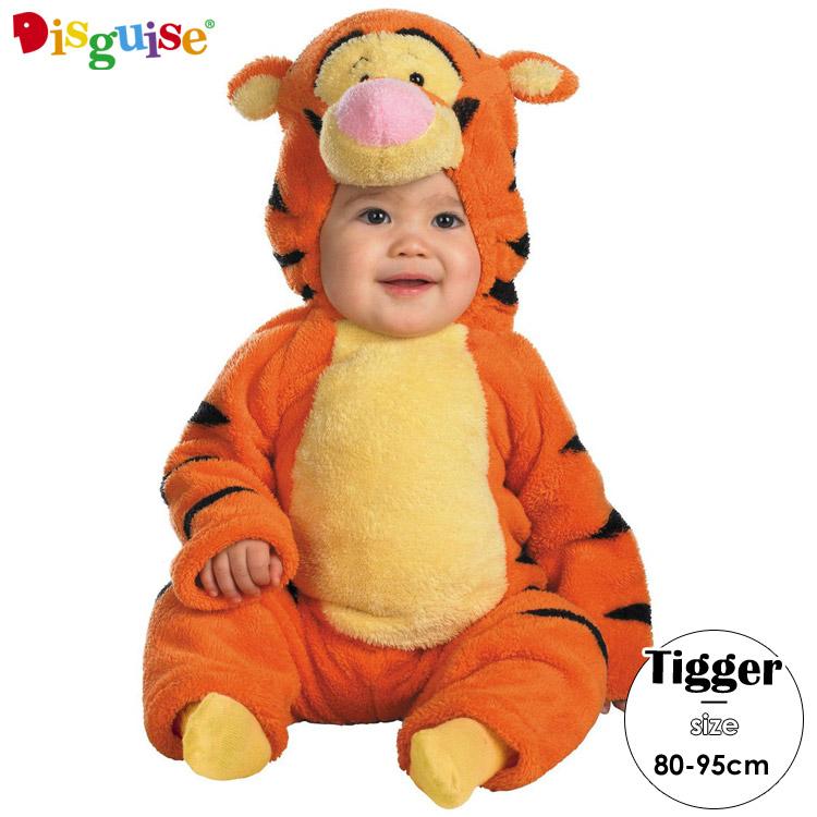 【大決算・割引商品】ディズニー くまのプーさん ティガー コスチューム ベビー 赤ちゃん 70-95cm Disguise 6580
