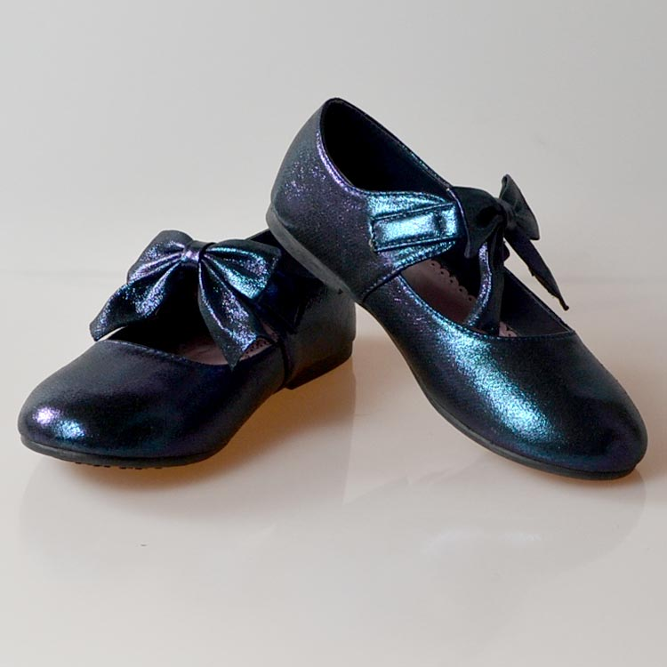 82c736fdcdc59 jb-scot 紺 靴 バレエシューズ 子供 用 キッズ こども 子ども 女の子 女児 ドレス ガールズ フォーマル リングガール 結婚式フォーマル  靴 女の子 18.5-23.5cm ...