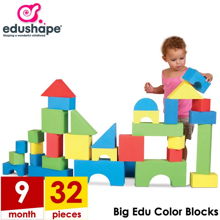 Online ONLY(海外取寄)/ エドシェイプ ジャイアント カラー ブロック 32個セット edushape 726033