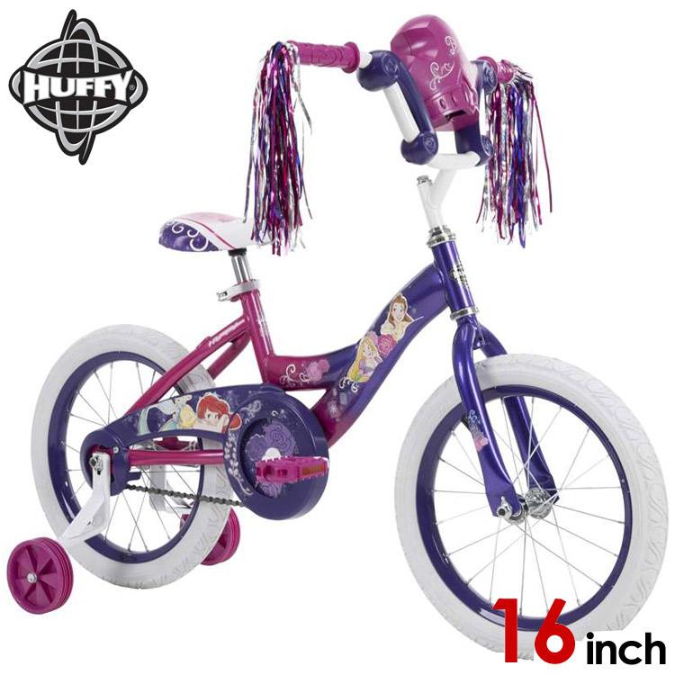 ディズニー プリンセス 16インチ 子供用 自転車 女の子 子供 驚きの価格が実現 バイク Huffy 21979 海外取寄 補助輪付き キャラクター Online 手数料無料 ONLY