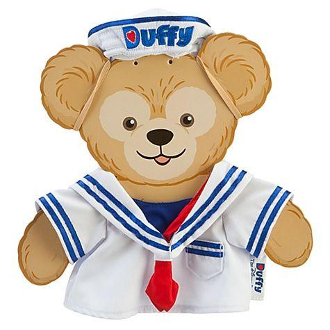 USA limited Duffy costumes ( sailor ) ( Duffy ) Disney bear and stuffed animal / P25Jan15