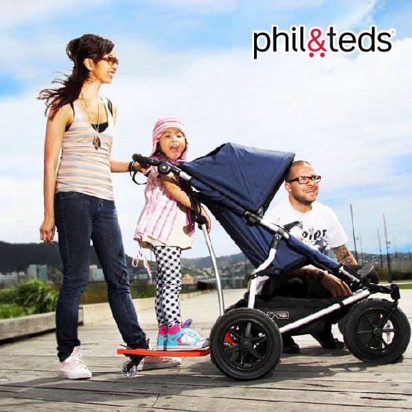 Phil&Teds)フリーライダー ブラック