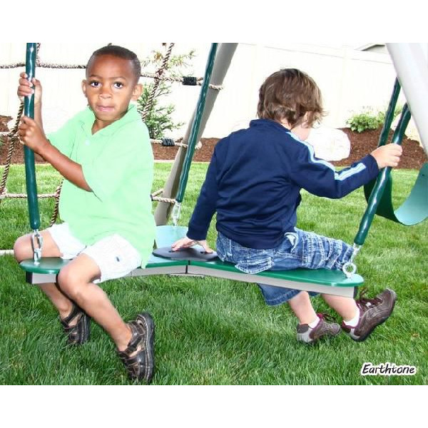 Paranino Deluxe Play Set A Frame Primary Playground And Jungle Gym