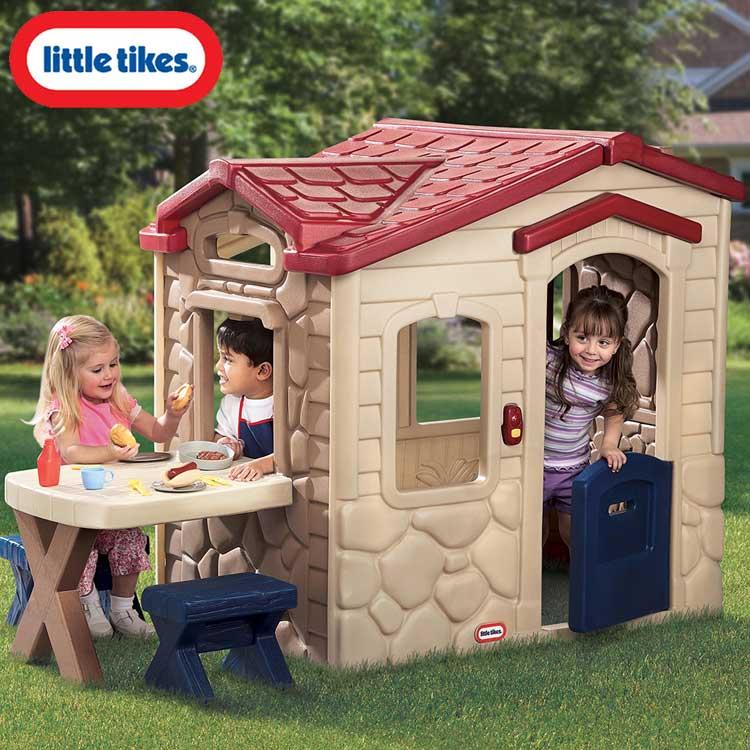 リトルタイクス ピクニック パティオ プレイハウス 大型遊具 1歳半から Littletikes 403U /配送区分C