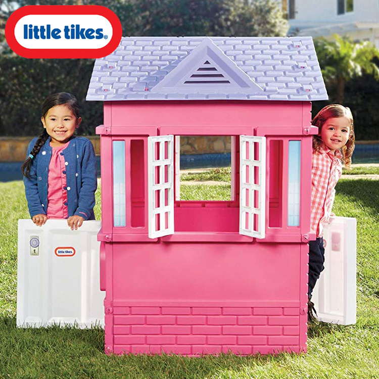 【割引クーポン有】リトルタイクス ケープコテージ プレイハウス ピンク 大型遊具 Littletikes 485145M /配送区分B