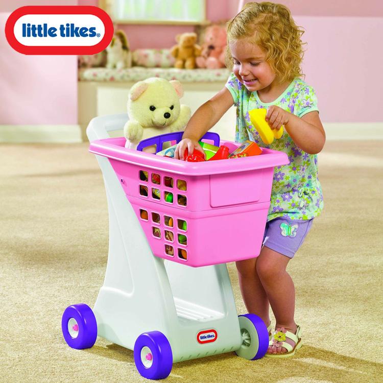 【展示品】リトルタイクス ショッピングカート ピンク 18ヶ月から 615344