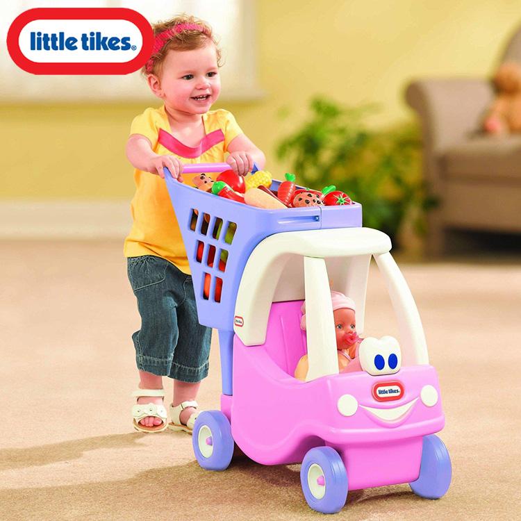 リトルタイクス コージークーペ プリンセス ショッピングカート プリンセス 女の子 1歳半から Littletikes 620195
