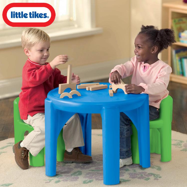 Online ONLY(海外取寄)/ リトルタイクス ブライト ボールド テーブル&チェアー 2歳から 子供用 LittleTikes 621048