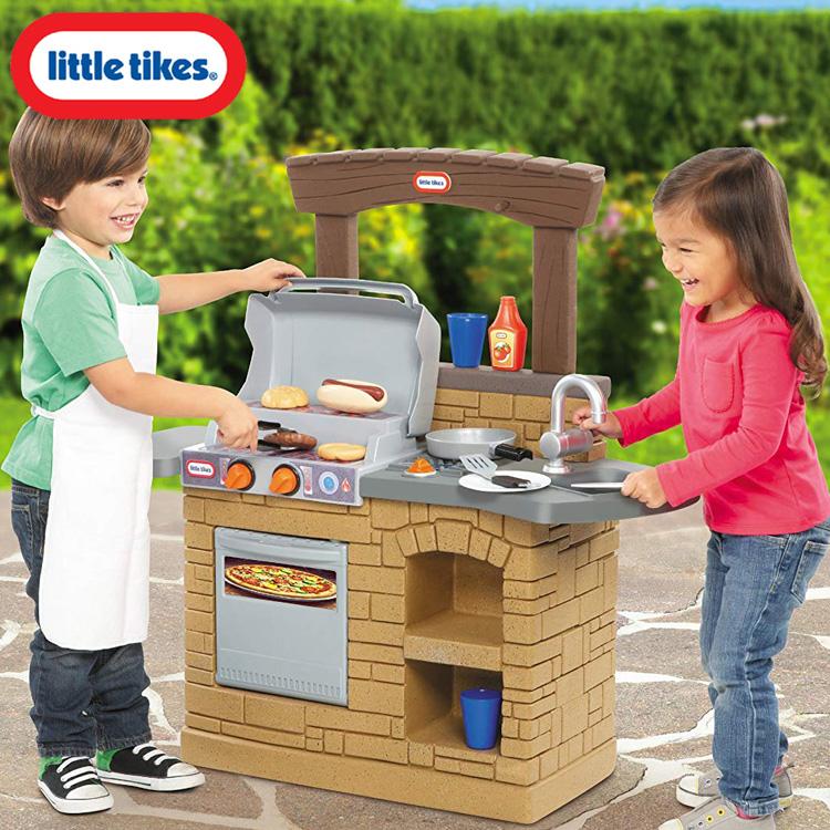 リトルタイクス クック プレイ アウトドア BBQ キッチン おままごと 2歳から Littletikes 633911
