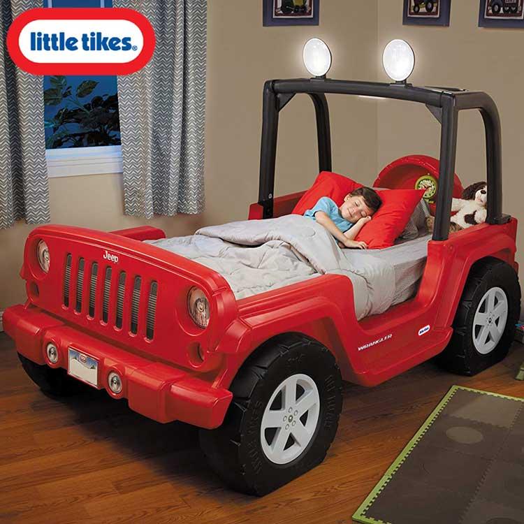 リトルタイクス ジープ ラングラー ツイン ベッド 男の子 15か月から Littletikes 635632 /配送区分C
