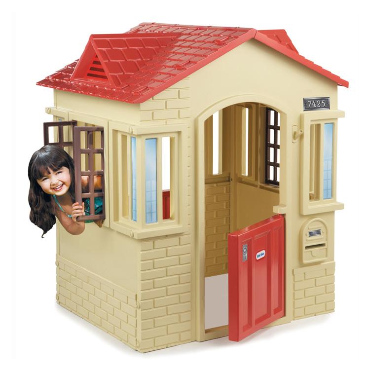 Online ONLY(海外取寄)/ リトルタイクス ケープコテージ プレイハウス タン 大型遊具 Littletikes 637902 /配送区分B