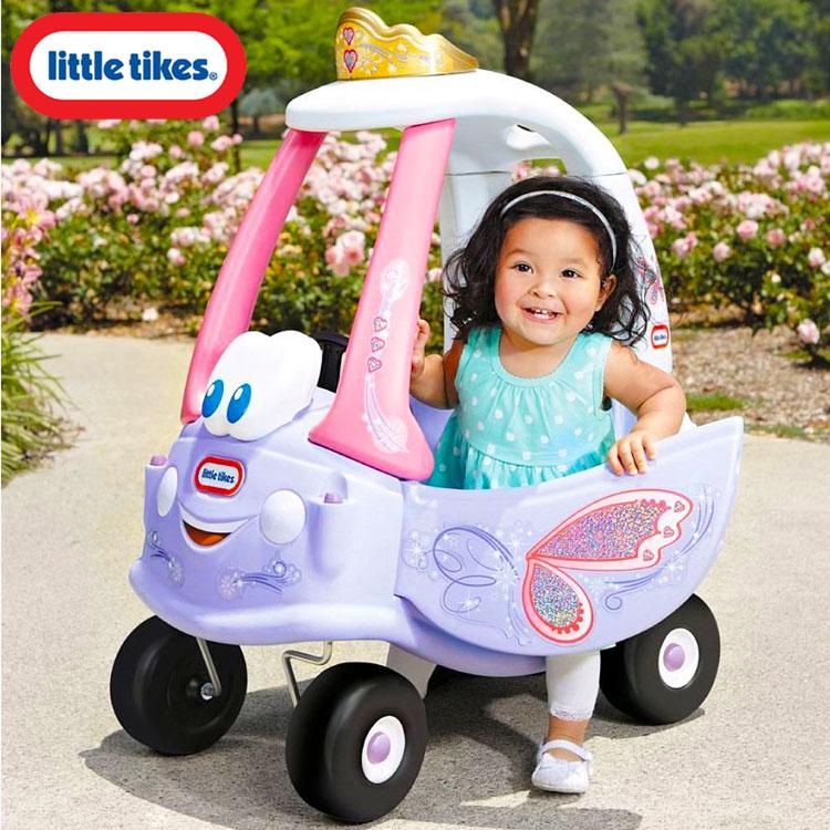 リトルタイクス コージークーペ フェアリー 足こぎ 乗用玩具 子ども おもちゃ Littletikes 641954