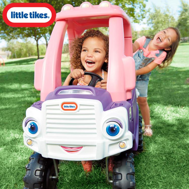 【P3倍・スーパーセール】リトルタイクス コージートラック パープル 子ども 車 ベビーカー 乗用玩具 Littletikes 642777 /配送区分A