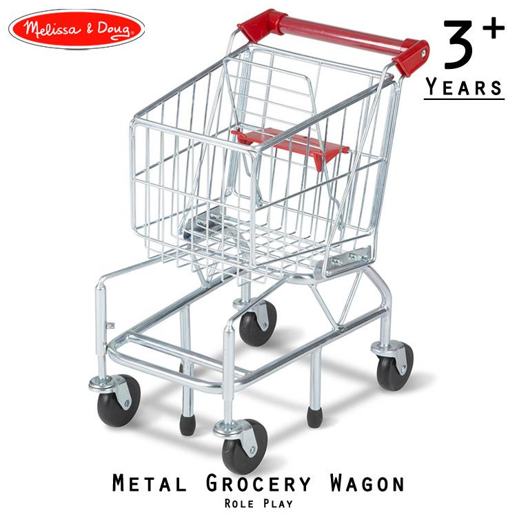 メリッサ&ダグ メタル グロッサリー ワゴン ショッピングカート Melissa&Doug 4071