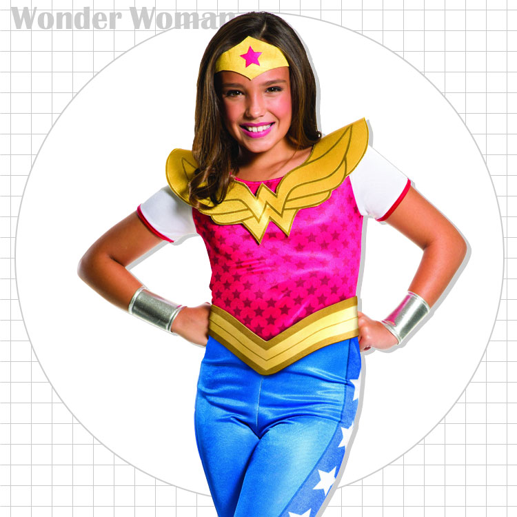 Rubies Wonder Woman DC Comics Hero Child Kids Girls Halloween Costume 620743